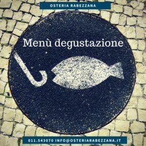 Menù degustazione di pesce